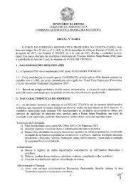 CABE - Edital e Ficha de Inscrição