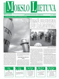 2009 m. spalio 15 d. Nr. 18 - MOKSLAS plius
