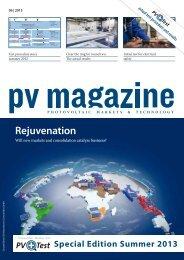 Rejuvenation - PV-TEST