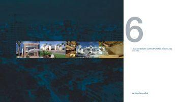 La Arquitectura contemporanea Dominicana 1978 - 2008
