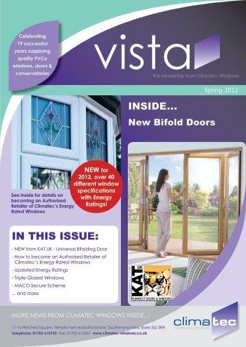 Vista Newsletter - Climatec Windows Limited
