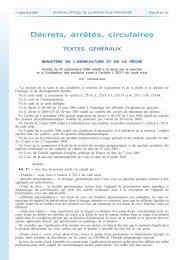 Arrêté du 12 septembre 2006 relatif à la mise sur le marché et à l ...