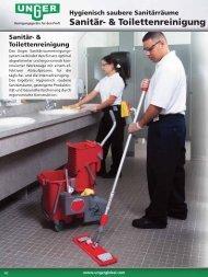 Sanitär- & Toilettenreinigung - Unger
