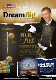 Issue 37 - September 2011 - SA Lotteries