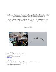 Seabird Bycatch Longline Fisheries Report - IW Learn