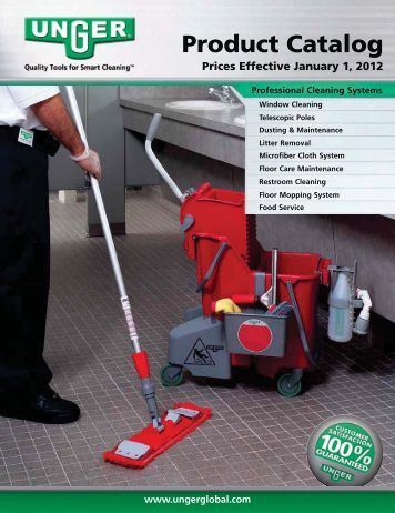 2012 Unger Product Catalog