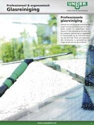 Glasreiniging Wisser & Rubber - Unger