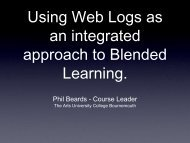 Phil Beards - Course Leader - StudyNet