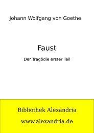 Faust I - Bibliothek Alexandria