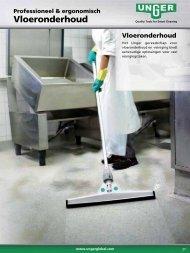 Vloeronderhoud - Unger