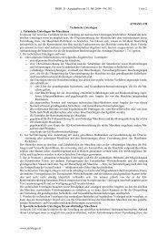 ANHANG VII Technische Unterlagen A. Technische ... - RIS