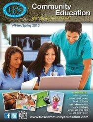 Look inside for... adult education career development health ...