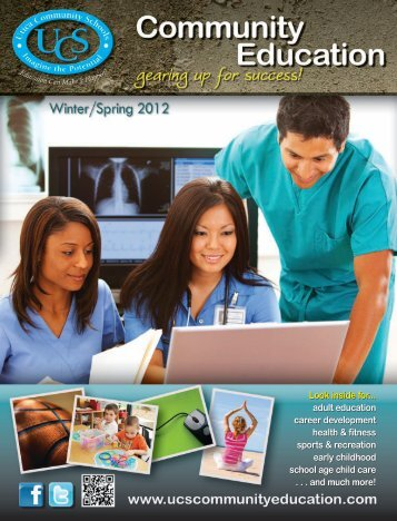 Look inside for... adult education career development health ...