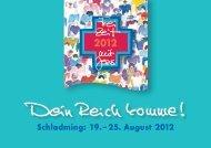Schladming: 19. – 25. August 2012 - Alpha Österreich