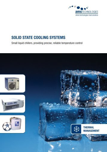 SOLId STATe COOLInG SYSTeMS - AMS Technologies