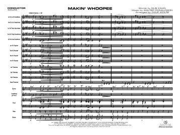 MAKIN' WHOOPEE - Ejazzlines.com