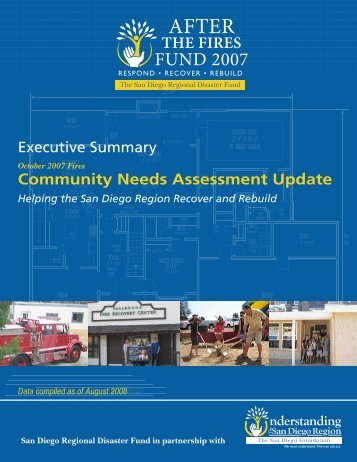 Community Needs Assessment Update - The San Diego Foundation