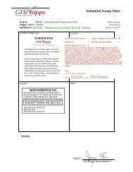 Submittal Stamp Sheet - GH Phipps Construction Companies