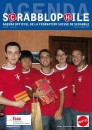 s c rAbbloP H ilE - Fédération Suisse de Scrabble