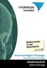Thüringen ein Medizintechnik - Thüringen innovativ GmbH