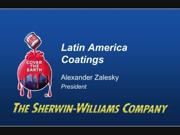 Latin America Snapshot - Sherwin Williams
