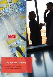 ESLS_SB_1107 RSA enVision Platform Compliance and ... - MSS