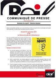 Assises du sport : faisons équipe (261 Ko) - Ville de Creil