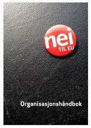 Organisasjonshåndbok - Nei til EU
