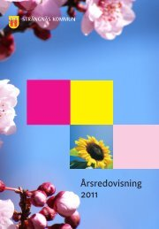 Årsredovisning 2011 - Strängnäs kommun