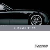 WIESMANN GT MF4 - Unfall-Service GmbH