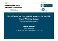 Steel Working Group Overview - Clean Energy Ministerial