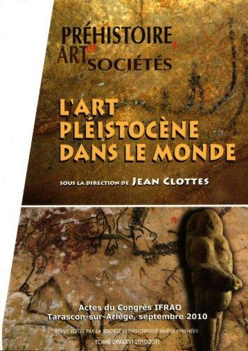 Datation et contexte archéologique de la nouvelle omoplate gravée ...