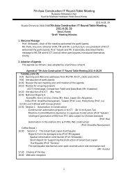 7th ACIT Meeting Minutes