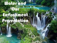 Water and Enviro Power Point in PDF