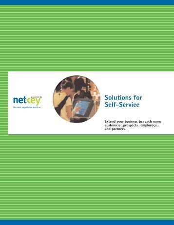 Solutions for Self-Service - Interactive Systems Limited