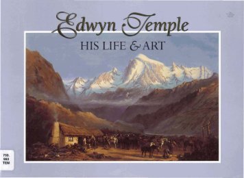 Edwyn Temple: his life and art - Christchurch Art Gallery