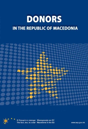 donors in the republic of macedonia - Logincee