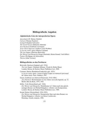 Bibliografische Angaben