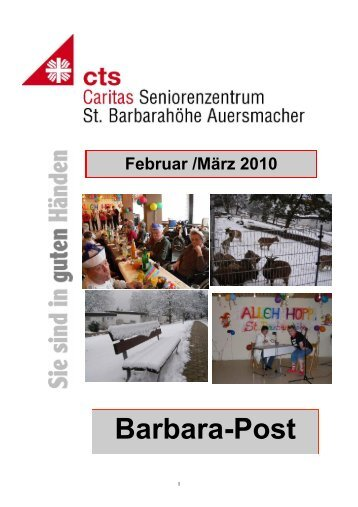 HZ St.B. FEbruar 2010 neu II - Caritas Seniorenzentrum St ...