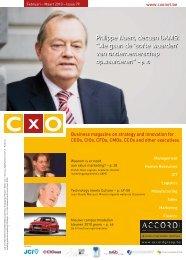 """Philippe Naert, decaan UAMS: """"We gaan de 'softe waarden' van - CxO"""