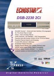 EchoNAV XpressTM - Advanced User Interface (16 ... - Topreceivers.nl