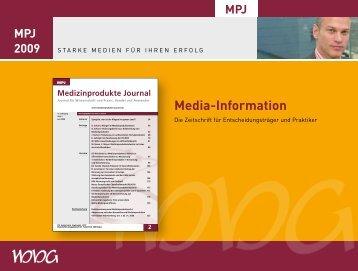 Media#Information - Medizinprodukte Journal