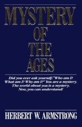 Mystery of the Ages PDF - Church of God Faithful Flock