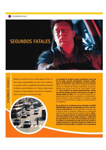 Segundos fatales - Colección educ.ar