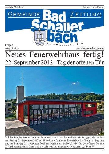 Folge 8.indd - Gemeinde Bad Schallerbach