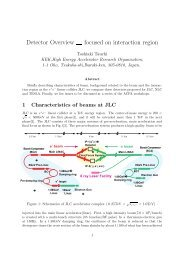 pdf (11 pages, 969kB) - ACFA Joint Linear Collider Physics and ...
