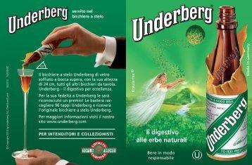 Il digestivo alle erbe naturali - Underberg