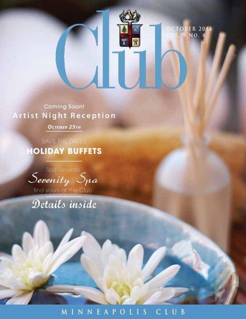 October - Minneapolis Club