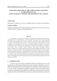 assessing individual treatment effectiveness in the presence of ...