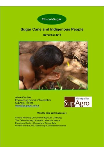 Sugar Cane And Indigenous People - Sucre Ethique